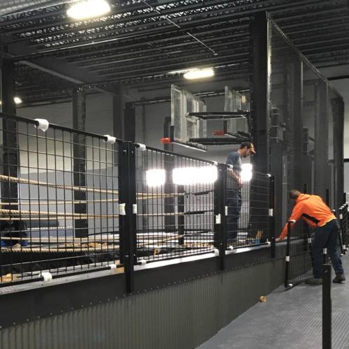 bend-steel-supply-custom-cage-handrail-handicap-ramp