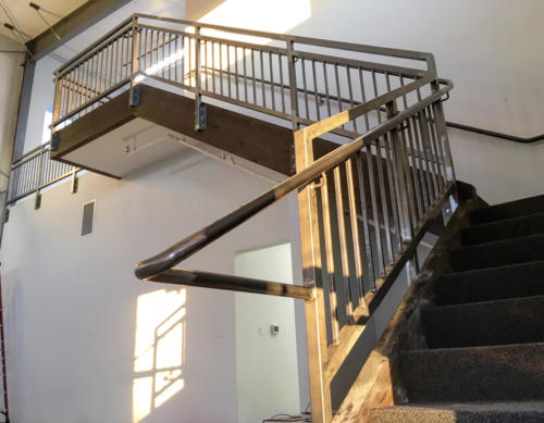 bend-steel-supply-fabrication-finished-handrail-installation