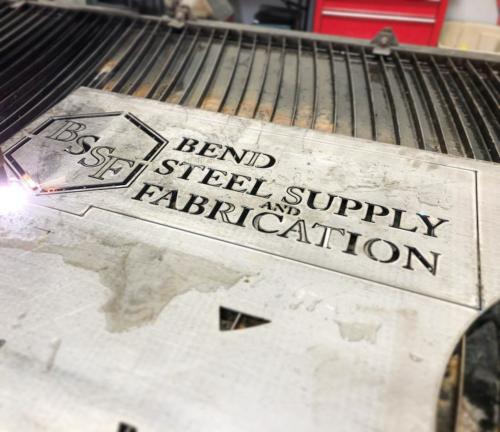 bend-steel-supply-logo-cnc-cutting